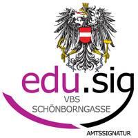 Amtssignatur VBS Schönborngasse