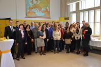 Bildungsdelegation aus Norwegen, Litauen und Mazedonien zu Besuch an der VBS Schönborngasse Bild 1