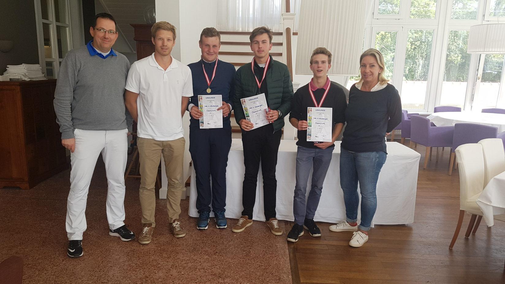 1. Platz Wr. Schulgolfmeisterschaften 2018