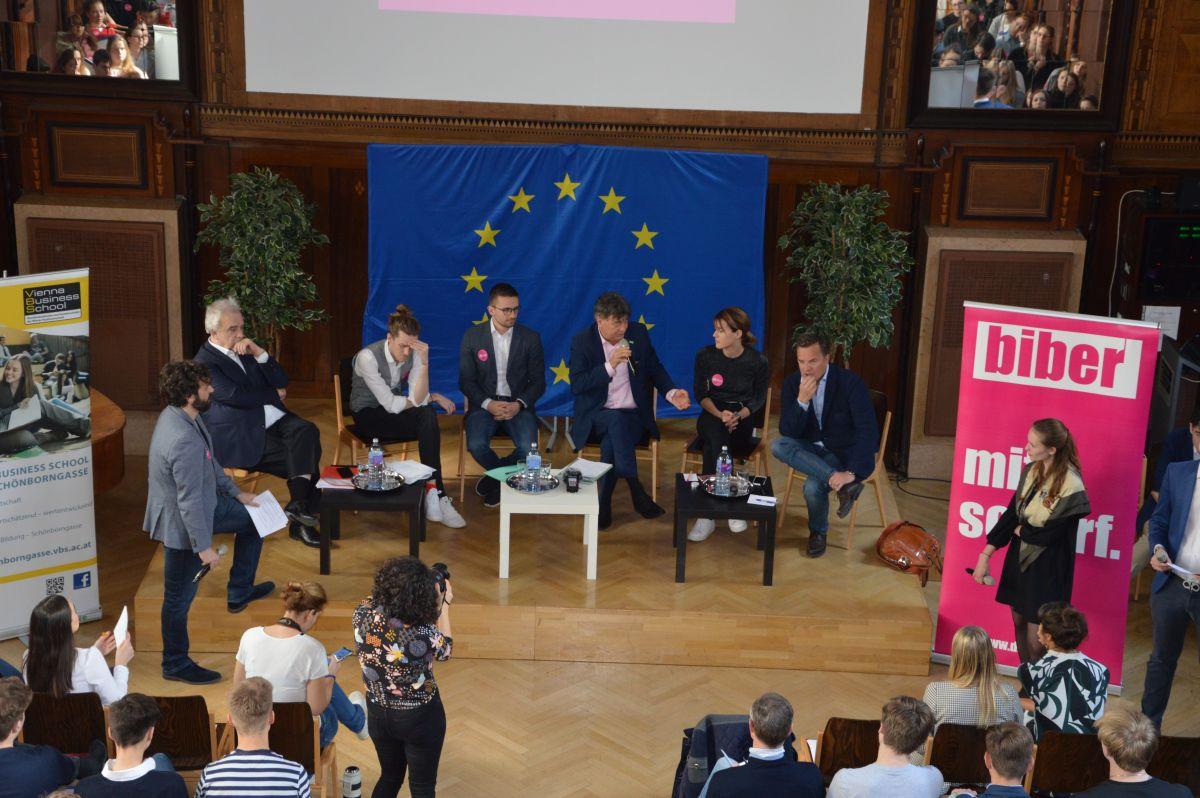 Diskussion zur EU-Wahl 2019