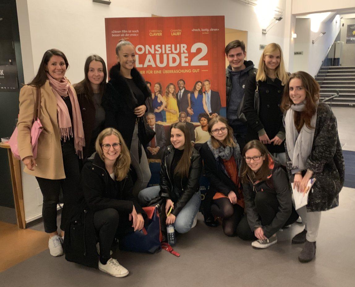 """Cinéclub der VBS Schönborngasse bei """"Monsieur Claude"""""""
