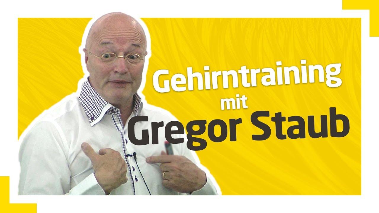 Gehirntraining mit Gregor Staub