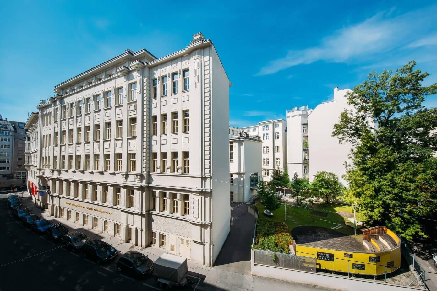 Nachhaltigkeitsbericht Schönborngasse Gebäude